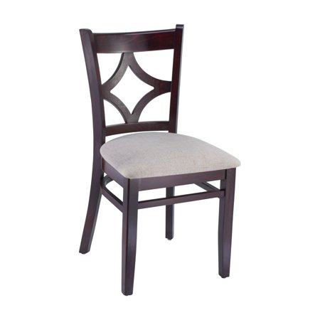 Safsil Seating Curtain Upholstered Dining Side Chair - Set of 2