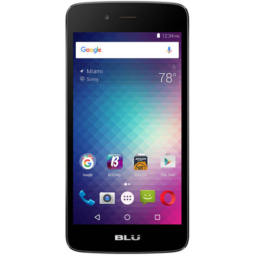 BLU Diamond M with 4GB Memory Cell Phone (Unlocked) Blue D210U BLUE