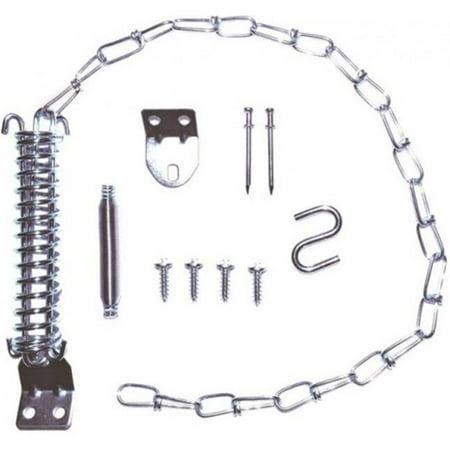 881185 Storm Door Stop Chain Kit - Zinc Plated (Plated Door Chain)