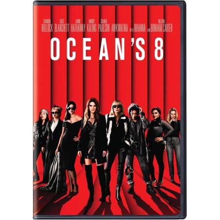 Ocean's Eight (DVD) (List Of All The Oceans In The World)