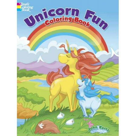 Unicorn Fun Coloring Book - Halloween Hard Coloring Pages