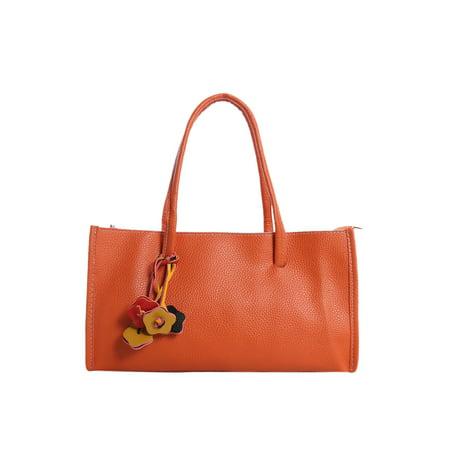 Women's Textured Leatherette Floral Decor Box - Purse Money Box
