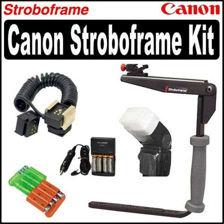 Stroboframe Bracket Accessory Kit For Canon 580EX & 580EX II Speedlite Flashes