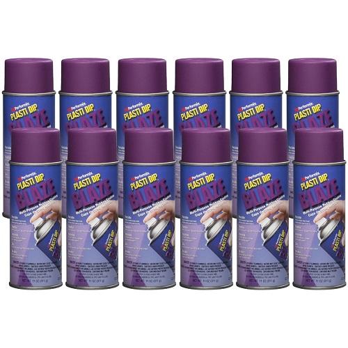 Performix Plasti Dip 11225 Blaze Purple Rubber Spray 12 PACK