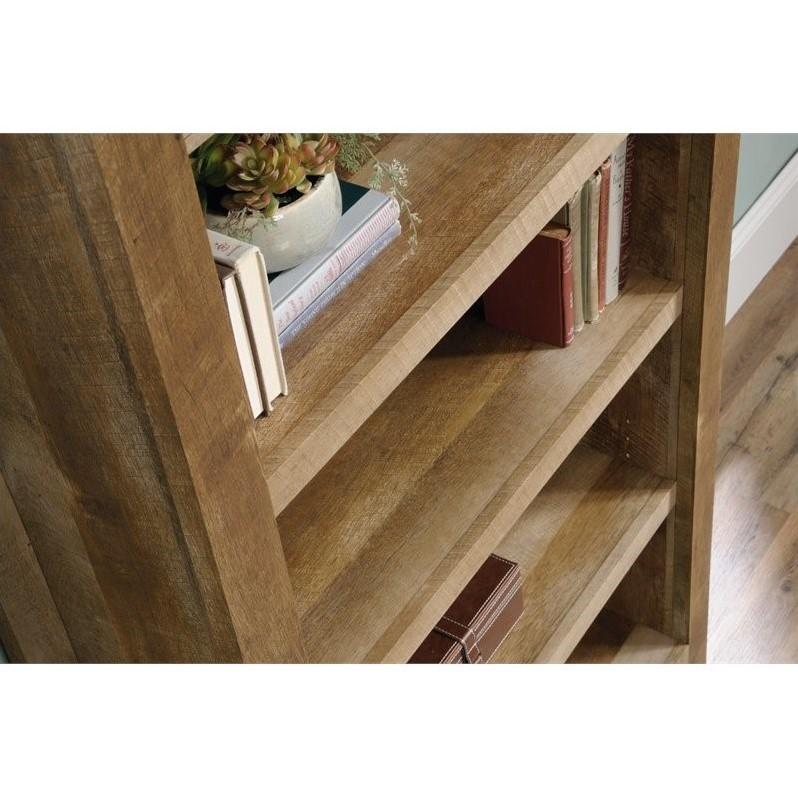 Scranton & Co 5 Shelf Bookcase in Craftsman Oak - image 4 of 5