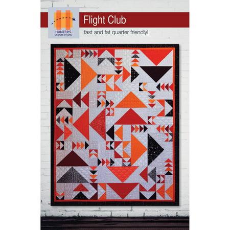 Flight Club Quilt Pattern by Hunter's Design Studio