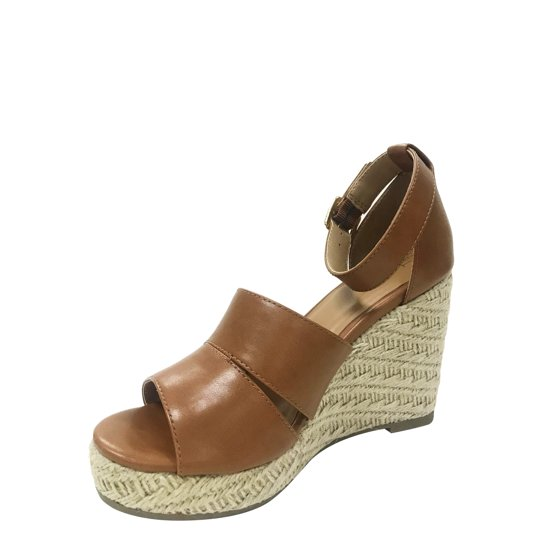 91f12ac3cc9 TIME AND TRU - Women s Time And Tru Covered Wedge - Walmart.com