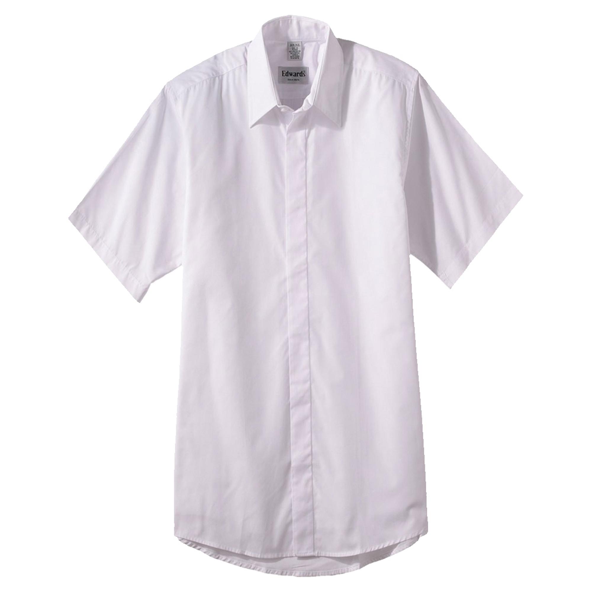 Edwards Garment Men's Café Button Down Collar Shirt