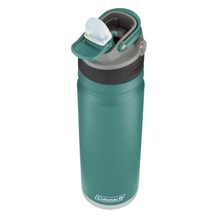 - Coleman AUTOSPOUT Switch Stainless Steel Insulated Water Bottle, 24oz/700mL