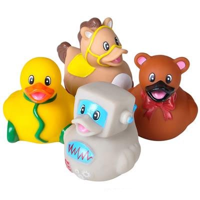 Rhode Island Novelty - Rubber Ducks - CLASSIC TOY DUCKIES (Set of 4 Styles)](Novelty Rubber Ducks)