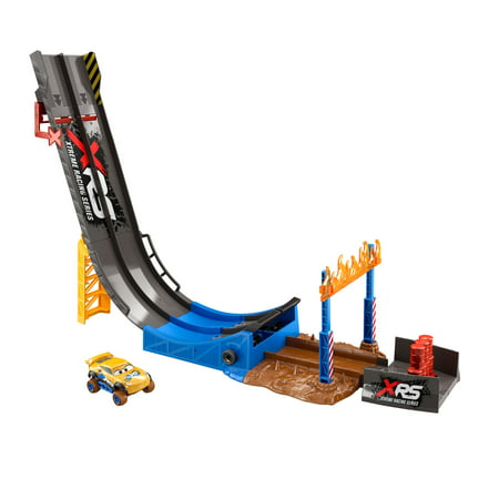 Disney/Pixar Cars XRS Mud Racing Big Air Drop Playset