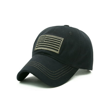 Men Baseball Cap Military Army Camo Hat Trucker Snapback Sport