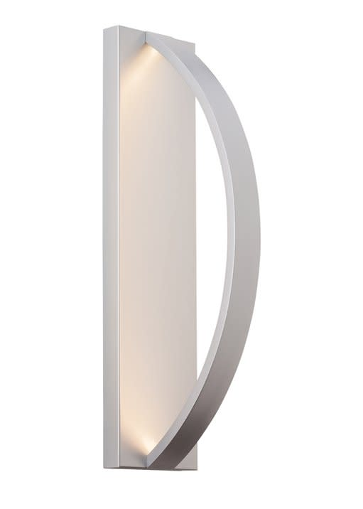 "LBL Lighting OD819SILEDW Hunter 24"" Height 1 Light LED Outdoor Wall Sconce by LBL Lighting"