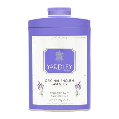 Yardley of London Original English Lavender 7.0 oz Perfumed (Lavender Talc)