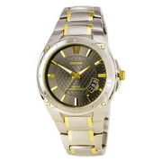 PXH825 Men's Sport Black Dial Two Tone Steel Bracelet Watch