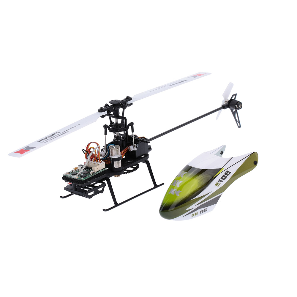 Falcon K100-B 6CH 3D 6G System Brushless Motor BNF RC Quadrocopter Remote Control Helicopter Drone for Holiday Gift Specification:Without remote control ...