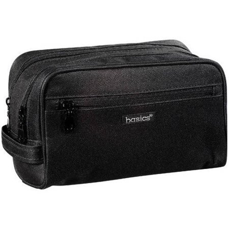 9f3b30f73a Modella Basics Double Zippered Travel Bag - Walmart.com