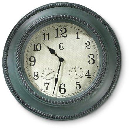 Kirch 24 Inch Indoor Outdoor Wall Clock