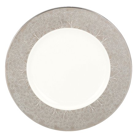 Silver Bouquet Accent Plate, Crafted of Lenox fine bone china By Lenox
