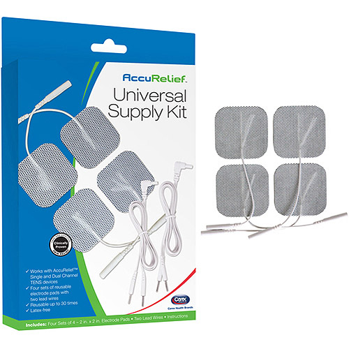 AccuRelief Universal Supply Kit for TENS and EMS Systems