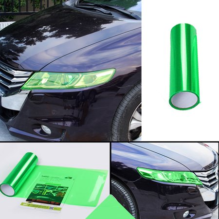 Car Headlight Fog Lamp Protect Film Vinyl Wrap Overlays Sheet For ALL Car