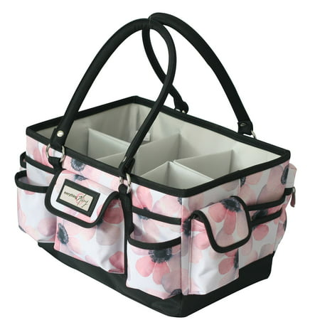 Everything Mary Craft Deluxe Store & Tote, Floral](Mary Craft)