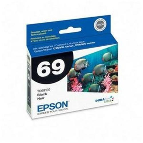 Epson Black Ink Cartridge For Stylus CX5000 and CX6000 T069120