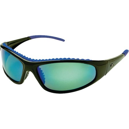Yachter's Choice Wahoo Sunglasses with Blue Mirror Polarized Lenses