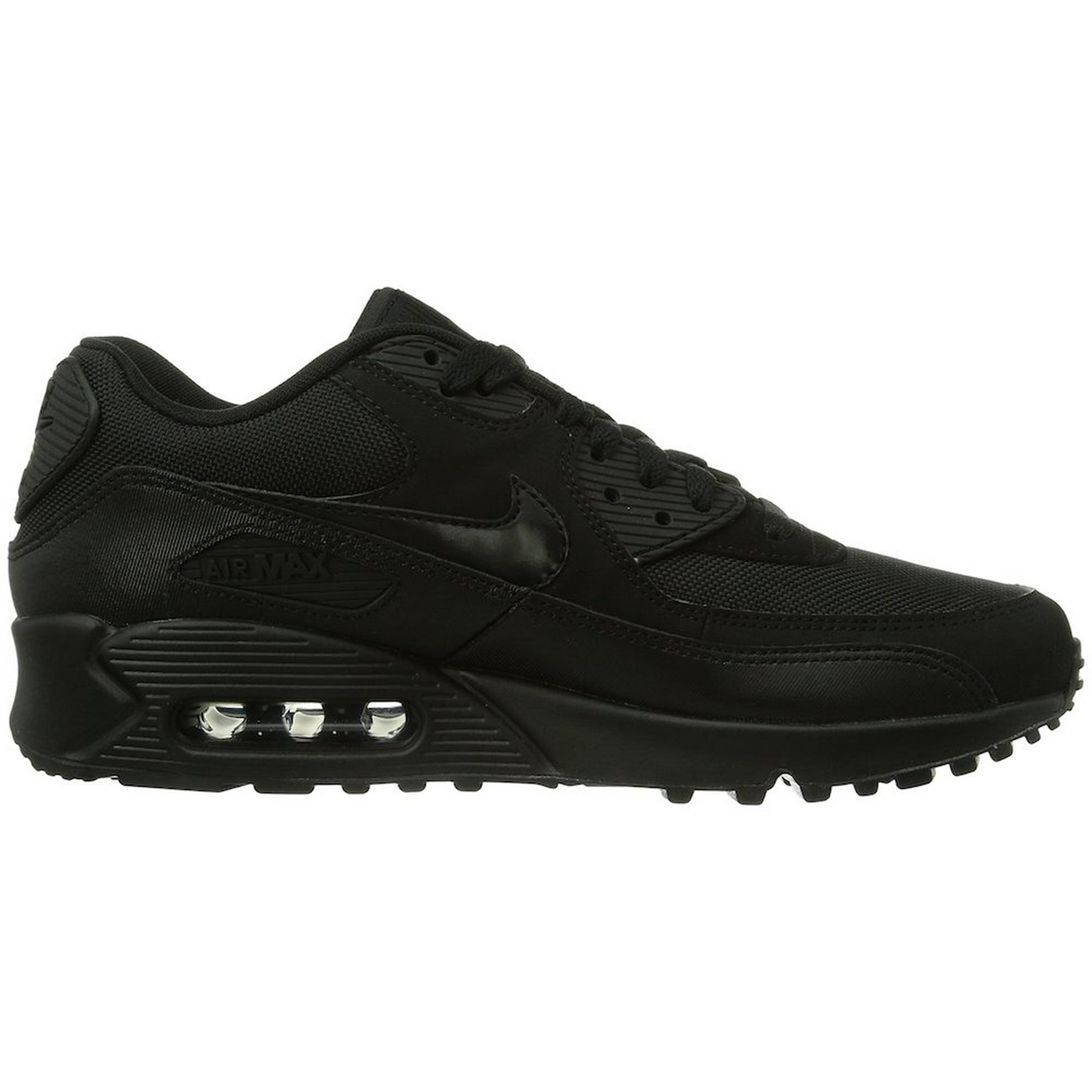 huge selection of 1e2c8 45de1 Nike Air Max 90 Men s Essential Shoes Black Black 537384-090