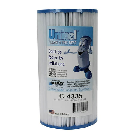 Unicel C-4335 35 sq foot Rainbow Replacement Swimming Pool Filter Cartridge - image 5 of 5