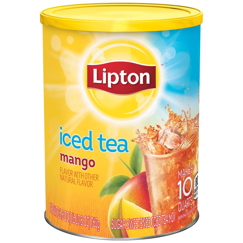 Lipton Drink Mix, Mango, 3 Oz, 1 Count