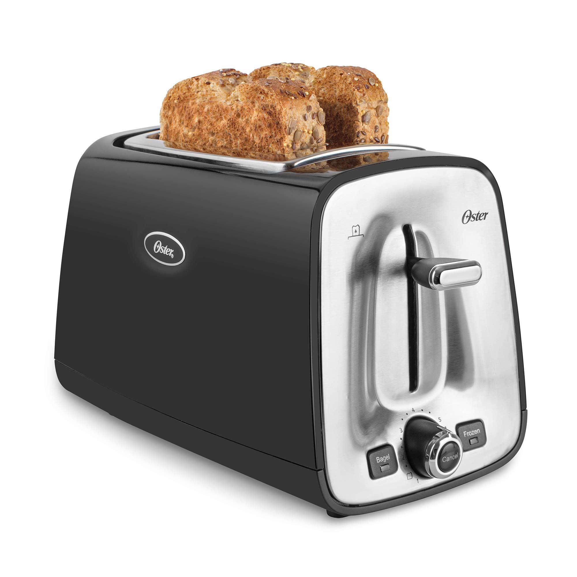 Oster 2-Slice Toaster, Black