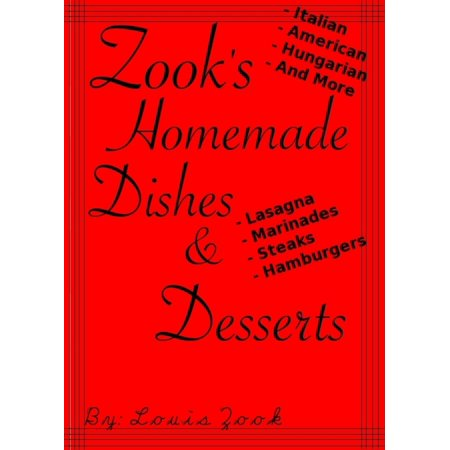 Zook's Homemade Dishes & Desserts! - eBook](Homemade Halloween Desserts)
