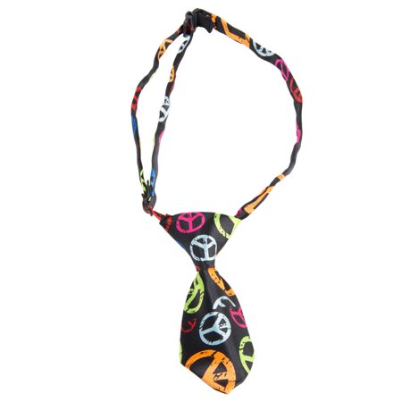 Dog Fashion Bandana - CUECUEPET Adjustable Party Time Novelty Design Fashion Necktie for Small Dogs