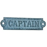 Handcrafted Nautical Decor Captain Sign Wall D cor
