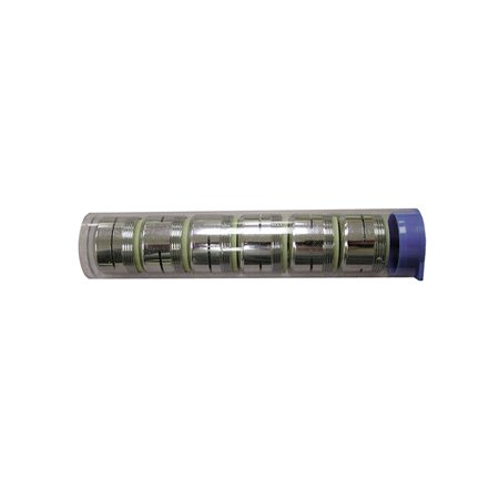 Dual Thread Non-Slotted Full Flow A01010 Aerator - Six Pack Tubes for Counter Di
