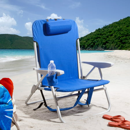 Rio Extra Wide Backpack Beach Chair ()
