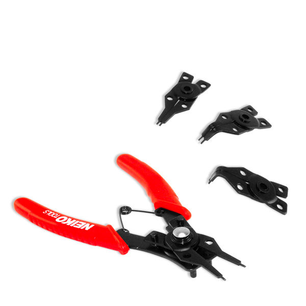 Neiko 02014A 4-Piece Snap Ring Pliers Set
