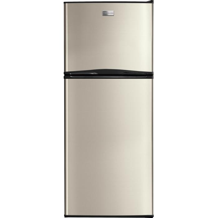 FFTR1022QM 24 Apartment Size Top Freezer Refrigerator With 9.9 Cu. Ft.  Capacity Adjustable