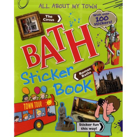 Bath Sticker Book (All About My Town Sticker Book) (Paperback)
