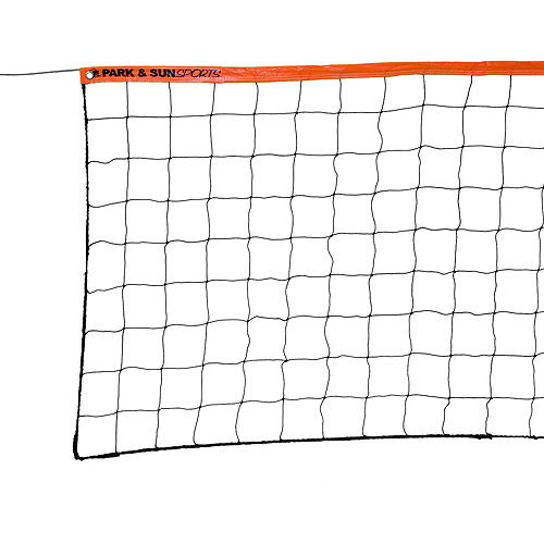 Park & Sun Volleyball Net, Steel Cable Top