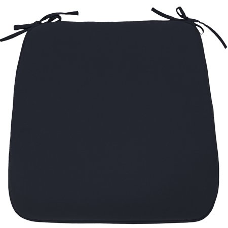 Better Homes & Gardens 19 x 18 in. Navy Outdoor Universal Seat Pad - Set of 2 ()