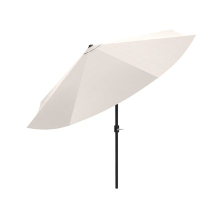 Pure Garden 10' Easy Crank and Auto Tilt Patio Umbrella