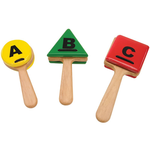 Westco ABC Clappers Musical Instrument Toy by Westco