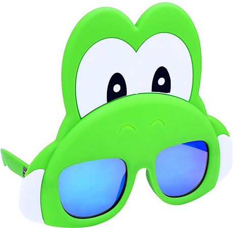 Sun-Staches Yoshi Novelty Costume Sunglasses, One Size](Novelty Costume)