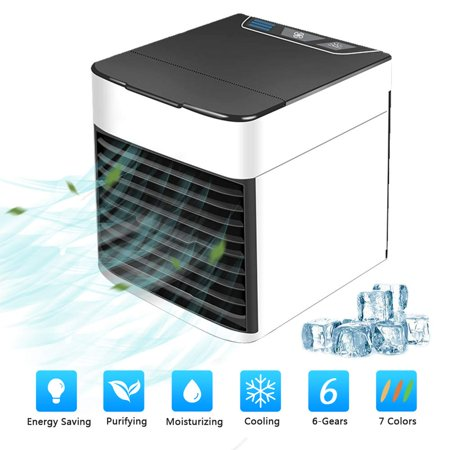 3 in 1 Universial Home Mini Air Circulator Cooler Cooling Fan, Portable Air Conditioner