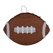 Football Pinata, Brown, 20.5in x 14.5in