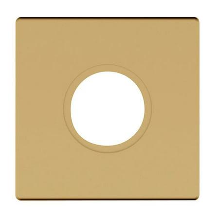 Baldwin Estate R017.150.PV Satin Nickel Rose - 2-5/8 In Sq Priv