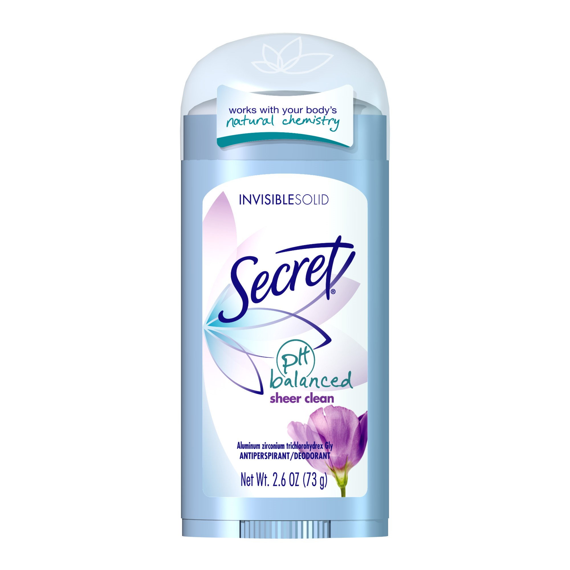 Secret® pH Balanced Sheer Clean Invisible Solid Antiperspirant/Deodorant 2.6 oz. Stick