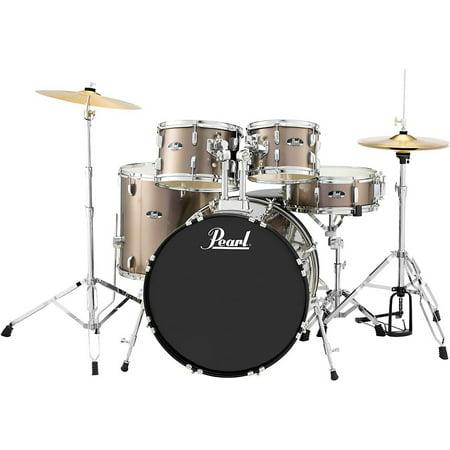 Pearl Roadshow 5-Piece New Fusion Drum Set Bronze (Pearl Roadshow 5 Piece Fusion Drum Set)